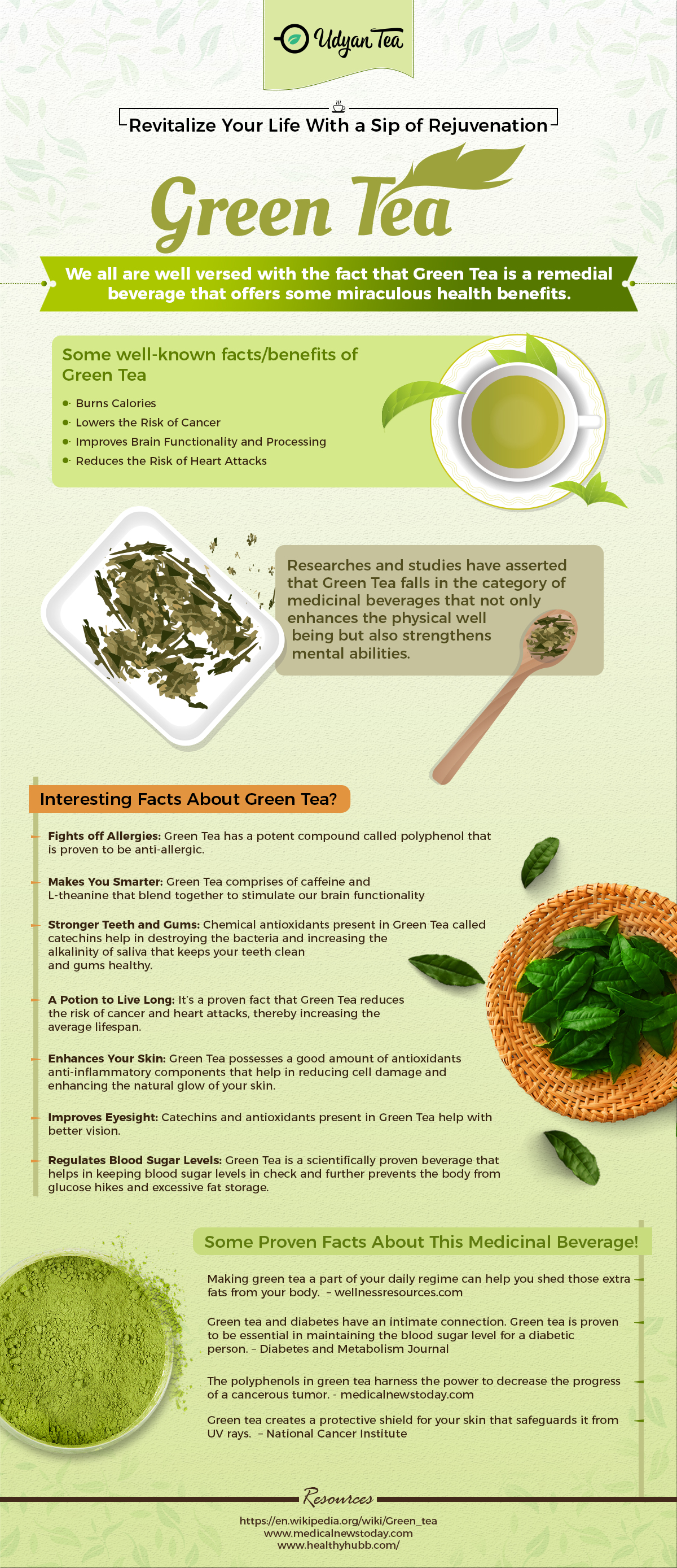 All About Green Tea - DivulgeFloor